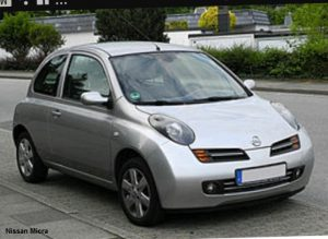 Nissan Micra te huur bij Sky Rent a Car Rhodos